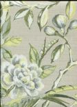 Galleria Lotus Blossom Willow Wallpaper 1601/629 By Prestigious Wallcoverings